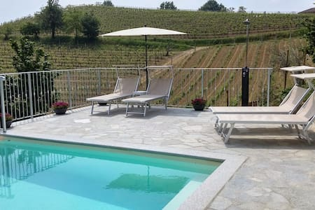 Cozy Apartment for 2 on Wine Farm - Agliano Terme - Bed & Breakfast