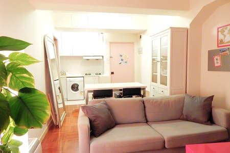 Cosy double room in the heart of HK - Apartment