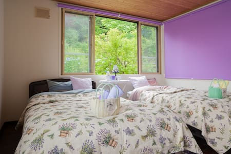 Rita house for Lavender 手作りの庭が自慢‼小樽は味覚の宝箱 - Leilighet