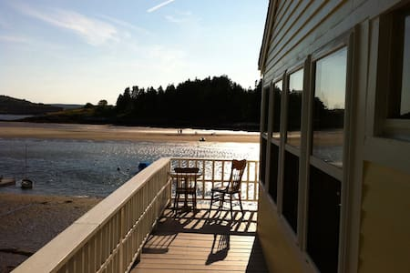 Waterfront Cottage on Kennebec with views and dock - Georgetown - Dom