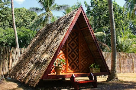 """ARCHERY-ASIA Nipa Hut """"Butterfly"""" in Moalboal - Bungalow"""