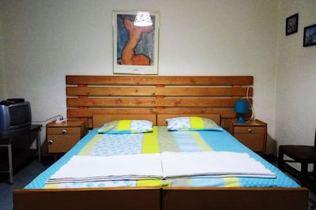 Apartment 2bedrooms & kitchen & bathroom & balcony - Guesthouse