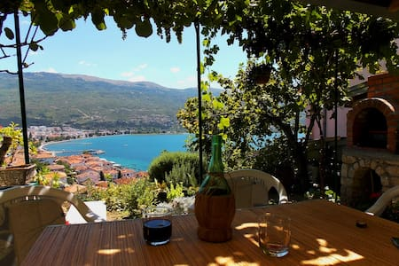 Zura Apartments - A room with a view - Ohrid - Pis