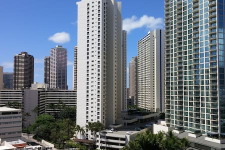 Private Room in Lovely Waikiki:Walk to the Beachs - Honolulu - Wohnung