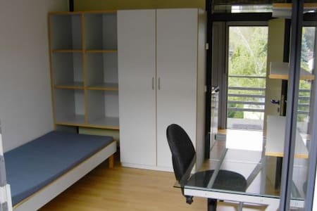 Single-bed studio with kitchen and bathroom - Konstanz - Sovesal