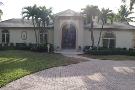 Waterfront Estate Guest Home near Indian Hill - Marco Island - 게스트하우스