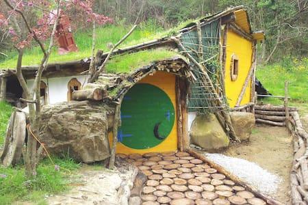 Alojamientos el hayal, cabaña hobitt - Aloños - Cabanya