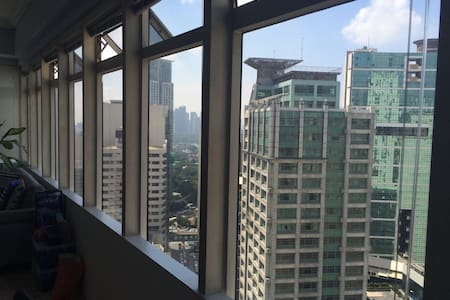 Fantastic Makati CBD private room. Awesome pool! - Makati - Appartement
