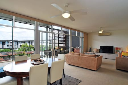 Peaceful,Private Room In Bulimba. - Bulimba - Apartment