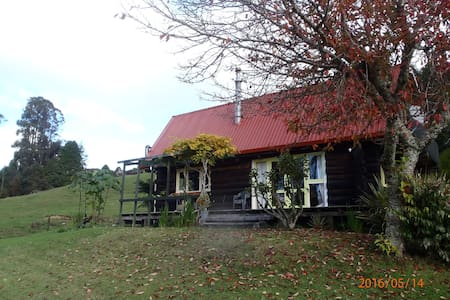 Raurimu  Log Cabin - your Outdoor activity base. - Raurimu - House