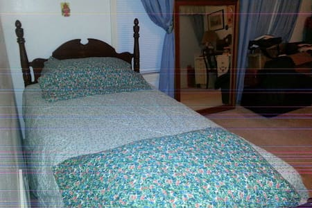Single bed, Comfortable and quiet. Roomy. - Corpus Christi - Casa