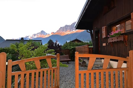 COSY CHALET WITH GARDEN AND VIEWS - Les Houches