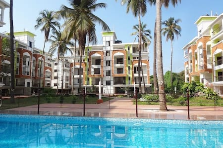 Beautiful 2 Bedroom Apartment at Candolim. - Apartment