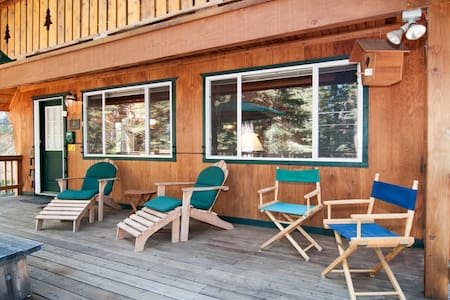 Deasy - Classic Chambers Chalet w/ private beach - Tahoma - Cabaña