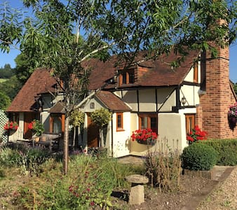 1 Double room in 500 year old Oxfordshire Cottage - Lower Assendon - Casa
