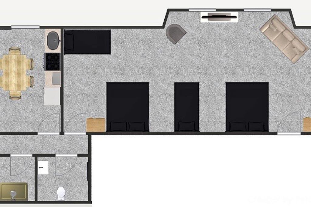 Elizabeth floor plan