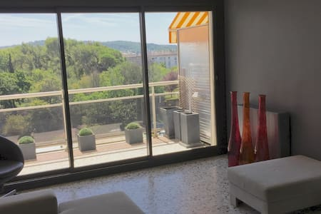 60m2  proche Centre ville PISCINE-PARKING gratuit - Aix-en-Provence - Appartement