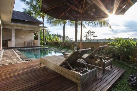 Villa Sri ricefield pool 1.5km fr Ubud center - Ubud - Villa