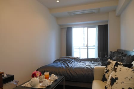 1min SHIROKANE Free PocketWiFi 2Bed - Apartment