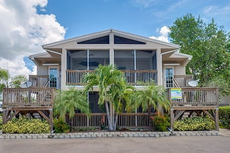 Cute 2 BR Villa by the Pier #1 - Fort Myers Beach - Wohnung