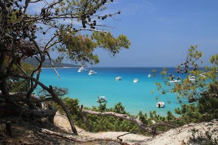 Appart Bleu Azur T2,2 terrasses,vue mer,piscine. - Apartment