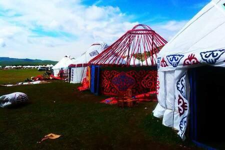 别克哈萨克毡房 - Aletai Diqu - Iurta