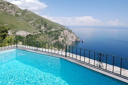 Lovely villa/pool/amazing sea view - Positano - Villa