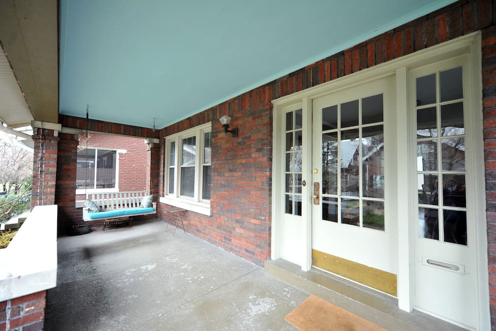 Front Porch with Swing Porch