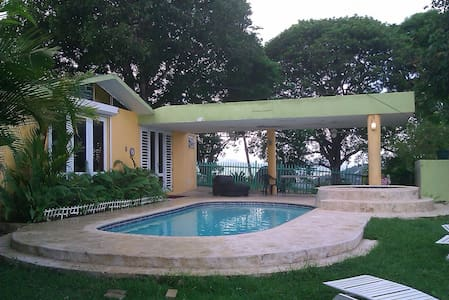 MI HACIENDA ROOM 1, POOL & VIEW LAKE COUNTRY HOUSE - Trujillo Alto - Dom