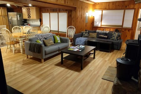 Family Lodge btwn Stratton & Mt Snow-TESLA Charger - Stratton - Casa