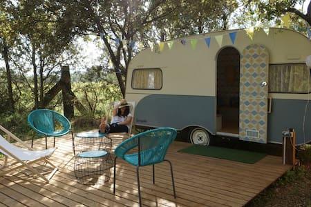 Caravane retro remise a jour - Vic-la-Gardiole - Camper/RV