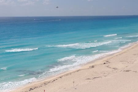 Full furnished oceanfront condo - Apartment