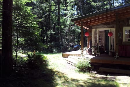 Rabbit Cottage - Savary Island - Lund - Stuga