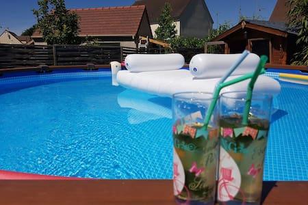 Maison piscine-Jardin  Val d'Europe-Disney(15min) - Casa