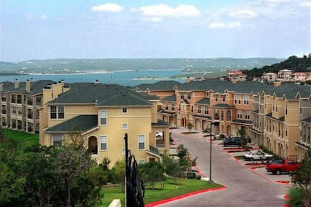 Room  with Lake View Lake Travis Home with Pools - Austin