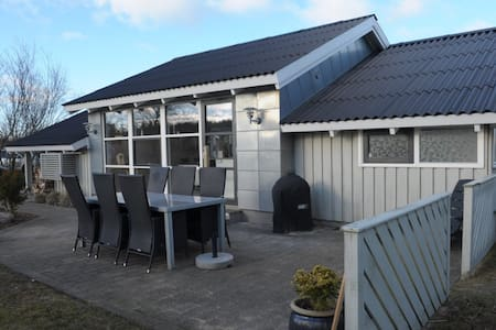 Lækkert sommerhus med havudsigt - Hirtshals - Boomhut
