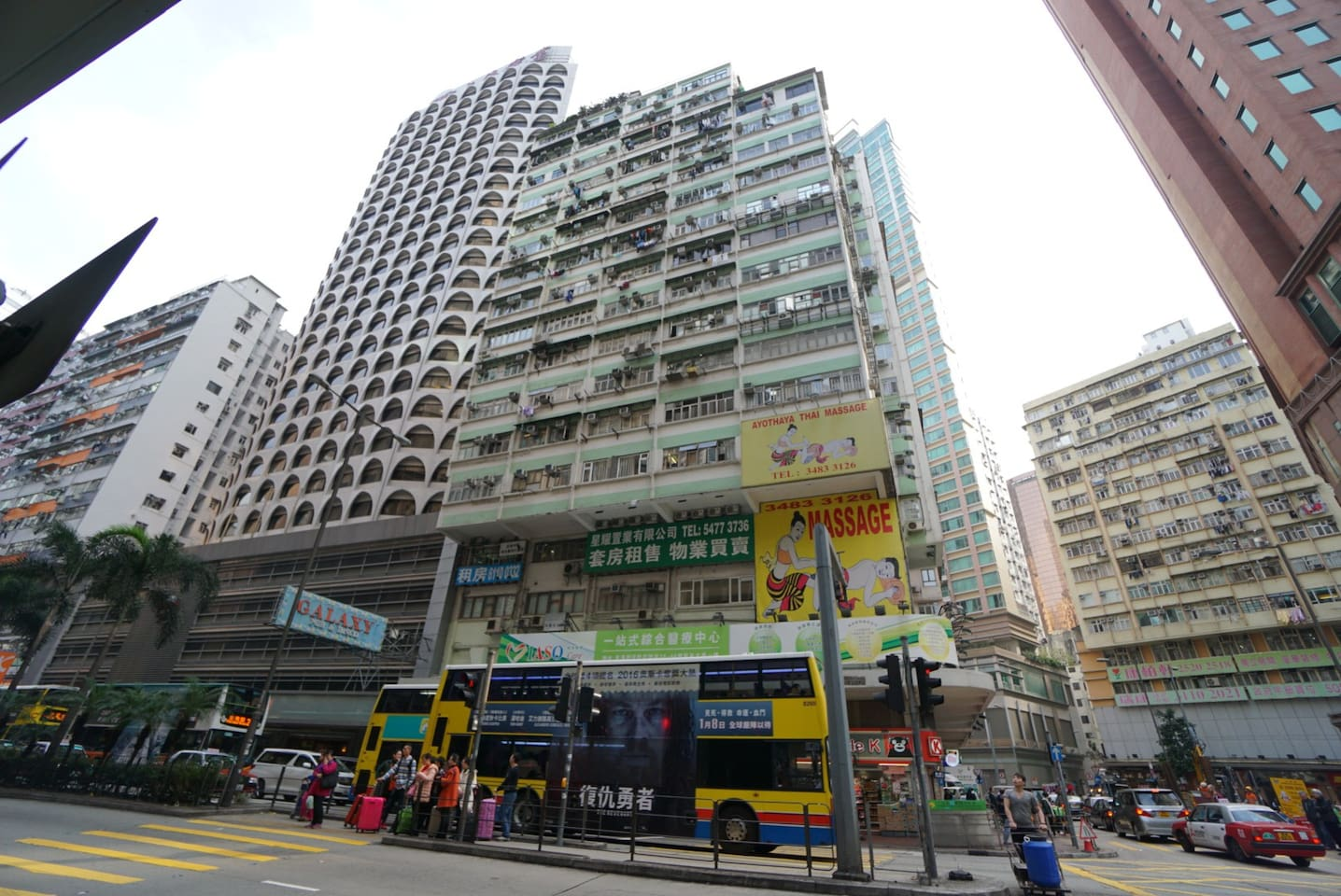 locate in the heart of Wanchai