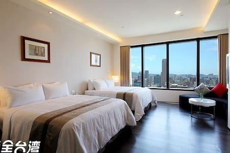 高雄85大樓寒舍-街景四人房 - Lingya District - 아파트(콘도미니엄)