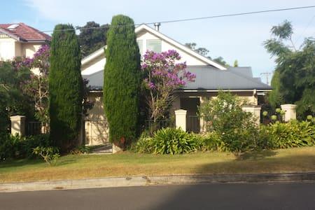 Charming Coastal Holiday Cottage - Collaroy - Maison