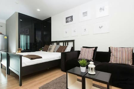 @Siam, 1Br for 4 Person, Skytrain&PocketWiFi/Limo - Appartement