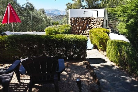 Lovely rural apartment with secluded garden - Villanueva del Trabuco