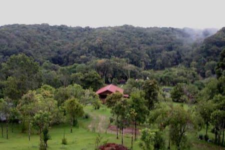 Getaway Bungalow in Brazilian Coastal Rain Forest - Stuga