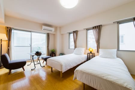 SUNNY APT in OGIKUBO/10 MIN TO SHINJUKU/NEAR TRAIN - Suginami-ku - Appartamento