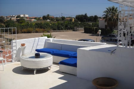 Casa en Vergel con terraza chill out - Ondara