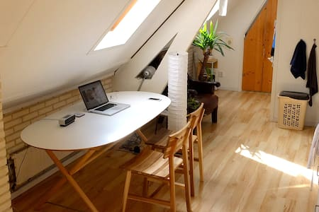 Lovely attic apartment - Apartamento