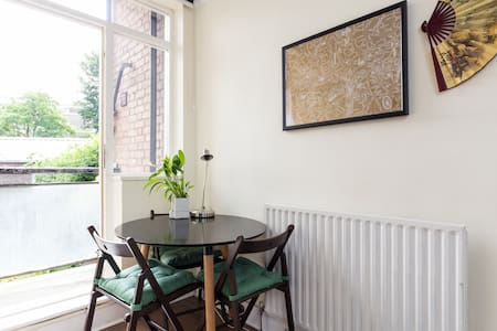 Bright Victorian Studio Stockwell, 20mins Big Ben - London - Apartment