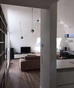 Quiet Kirchberg Penthouse & Private Bathroom - Loft