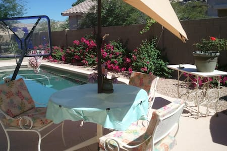 N Phx house, swimmingpool, cooler! - Casa