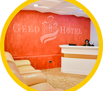 Deluxe rooms GEED HOTEL NAIROBI - Bed & Breakfast