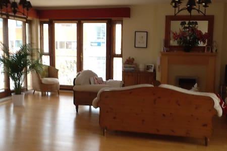 Bright, spacious, modern duplex - Flat
